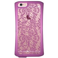 Capa Intelimix Velozz Roxa Apple iPhone 6 6S Rendas - TP281