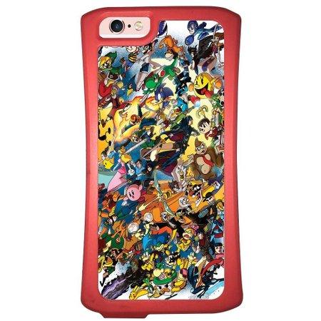 Capa Intelimix Velozz Coral Apple iPhone 6 6S Games - GA24