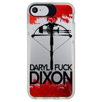 Capa Personalizada Intelimix Intelishock Branca Apple iPhone 7 - The Walking Dead - TV99
