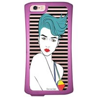 Capa Intelimix Velozz Roxa Apple iPhone 6 6S Style - TP265