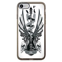 Capa Intelimix Intelislim Grafite Apple iPhone 7 Música - MU29