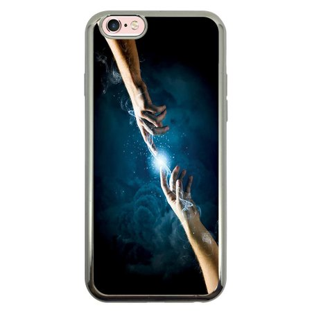 Capa Intelimix Intelislim Prata Apple iPhone 6 6s Religião - RE13