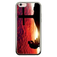 Capa Intelimix Intelislim Prata Apple iPhone 6 6s Religião - RE12