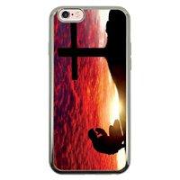Capa Intelimix Intelislim Prata Apple iPhone 6 6s Religião - RE12