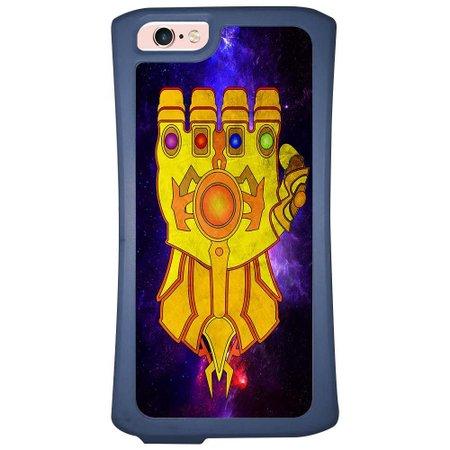 Capa Intelimix Velozz Azul Apple iPhone 6 6S Super Heróis - SH13