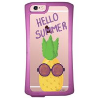 Capa Intelimix Velozz Roxa Apple iPhone 6 6S Hello Summer - TP322