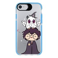 Capa Personalizada Intelimix Intelishock Azul Apple iPhone 7 - Harry Potter - HP06