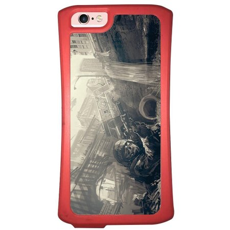 Capa Intelimix Velozz Coral Apple iPhone 6 6S Games - GA35