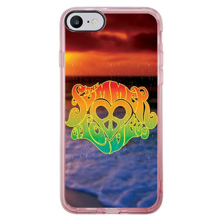 Capa Intelimix Intelislim Rosa Apple iPhone 7 Summer Love - AT40