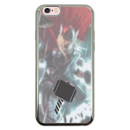 Capa Intelimix Intelislim Prata Apple iPhone 6 6s Super Heróis - SH03