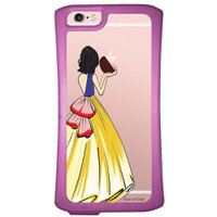 Capa Intelimix Velozz Roxa Apple iPhone 6 6S Princesa Branca de Neve - TP203