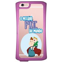 Capa Intelimix Velozz Roxa Apple iPhone 6 6S Dia dos Pais - TP198