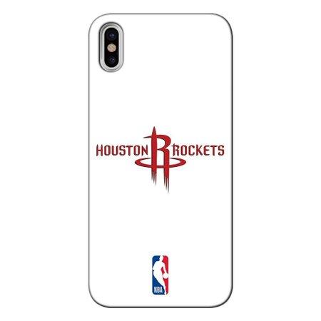 Capa para Celular - Apple iPhone X - Houston Rockets - A13