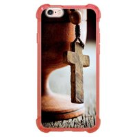 Capa Intelimix Anti-Impacto Rosa Apple iPhone 6 6s Religião - RE03