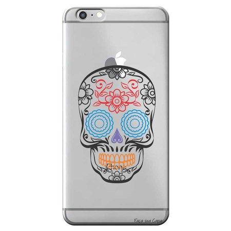 Capa Personalizada para Apple Iphone 6/6S Plus Caveira Mexicana - TP241