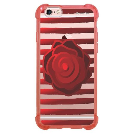 Capa Intelimix Anti-Impacto Rosa Apple iPhone 6 6s Primavera - PV08