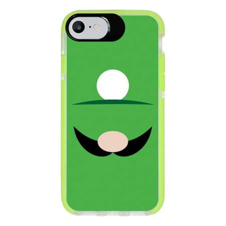 Capa Personalizada Intelimix Intelishock Verde Apple iPhone 7 - Games - GA53