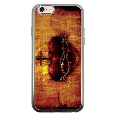 Capa Intelimix Intelislim Prata Apple iPhone 6 6s Religião - RE08