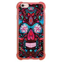 Capa Intelimix Anti-Impacto Rosa Apple iPhone 6 6s Caveira - CV12