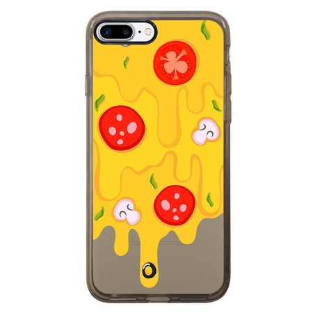 Capa Intelimix Intelislim Grafite Apple iPhone 7 Plus Food - TP379