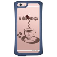 Capa Intelimix Velozz Azul Apple iPhone 6 6S Frases - TP01