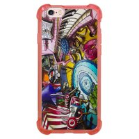 Capa Intelimix Anti-Impacto Rosa Apple iPhone 6 6s Designer - DE28