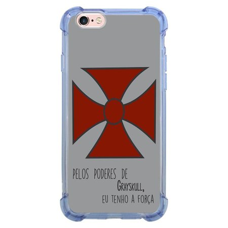 Capa Intelimix Anti-Impacto Azul Apple iPhone 6 6s Nostalgia - NT41
