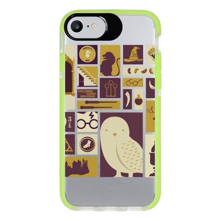 Capa Personalizada Intelimix Intelishock Verde Apple iPhone 7 - Harry Potter - HP02