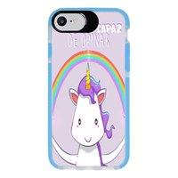Capa Personalizada Intelimix Intelishock Azul Apple iPhone 7 - Memes - ME07