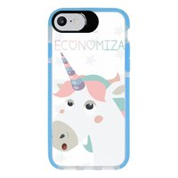 Capa Personalizada Intelimix Intelishock Azul Apple iPhone 7 - Memes - ME05