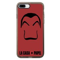 Capa Intelimix Intelislim Grafite Apple iPhone 7 Plus La Casa de Papel - TP344