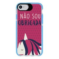 Capa Personalizada Intelimix Intelishock Azul Apple iPhone 7 - Memes - ME09