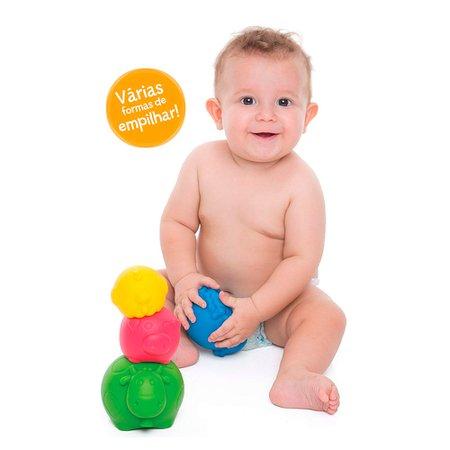 Brinquedo e Mordedor Fazendinha de Empilhar - Toyster