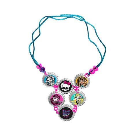 Monster High Colar Pingente Arrepiantes - Fun Divirta-Se