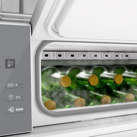 Geladeira Brastemp Frost Free Inverse 460 litros Inox com Freeze Control Advanced