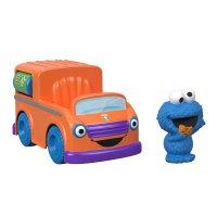 Fisher Price Vila Sésamo Food Truck do Come Come - Mattel
