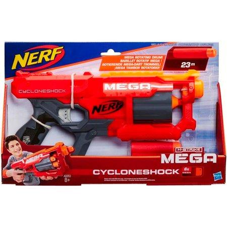 Lançador de Dardos Nerf Mega Cyclone - Hasbro
