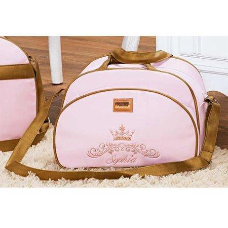 Kit 02 Bolsas de Maternidade Realeza Personalizada - Talismã