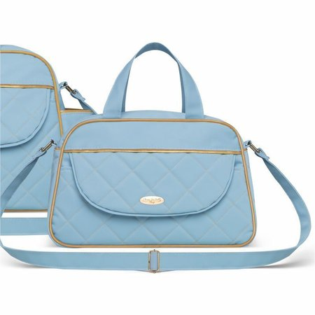 Kit Bolsa Maternidade Selena Baby Izmir Azul - Classic For Baby Bags