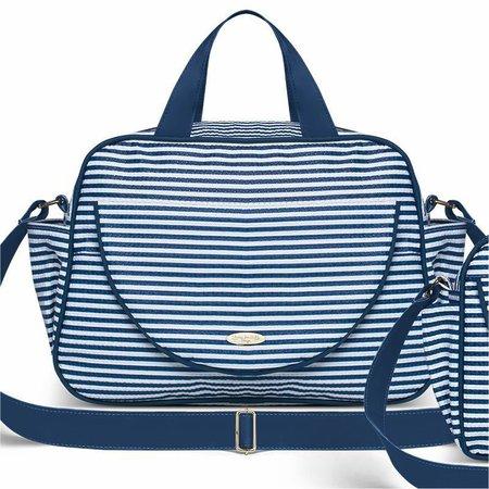 Kit Bolsa Maternidade Austria Capibaribe Marinho - Classic For Baby Bags