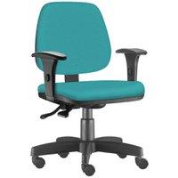 Cadeira Giratória Job Executiva Ergonômica Escritório Couro Sintético - Lyam Decor