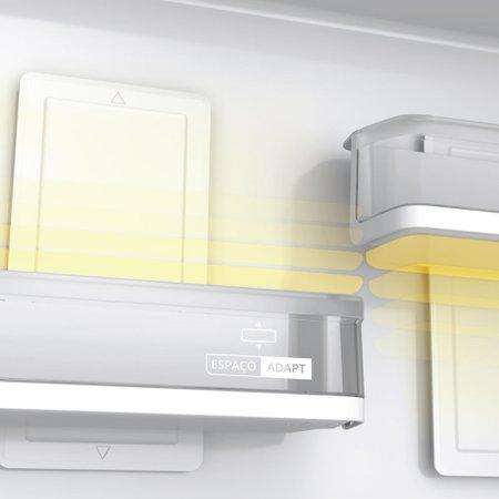 Geladeira Brastemp Frost Free Duplex 500 litros cor Inox com Turbo Control