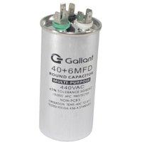 Capacitor CBB65 Gallant 40+6MF +-5% 440 VAC GCP40D06A-IX440
