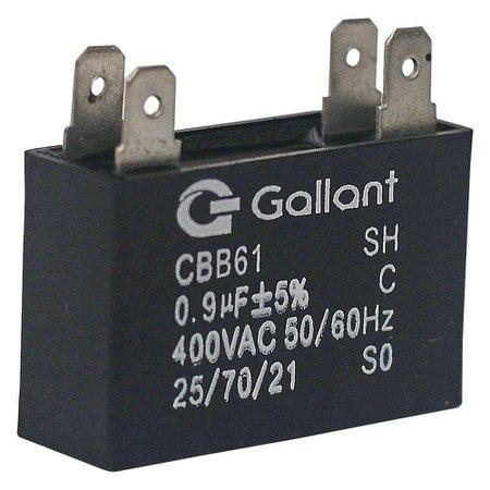 Capacitor CBB61 Gallant 0,9MF +-5% 400VAC GCP09S00A-PT400