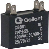 Capacitor CBB61 Gallant 2MF +-5% 400 VAC GCP20S00A-PT400