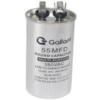 Capacitor CBB65 Gallant 55MF +-5% 380 VAC GCP55S00A-IX380