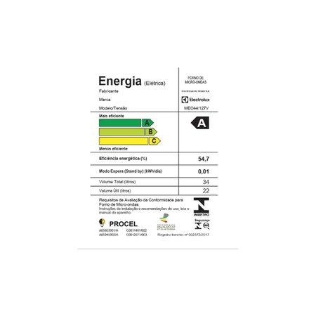 Micro-Ondas Electrolux 34L MEO44