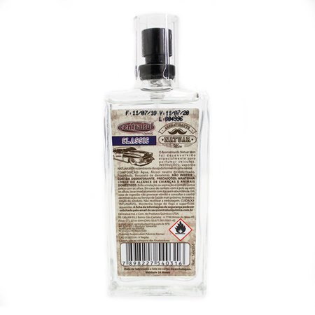 Aromatizante Spray Natuar Men Classic 45ml