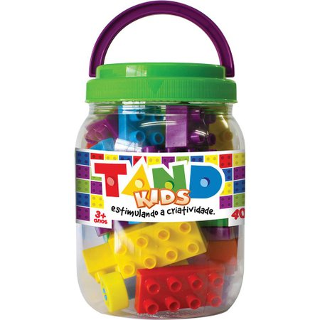 Tand Kids Pote 40 Peças - Toyster