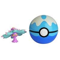 Pokemon Pokebola Clip N Go com Clips Mareanie - DTC